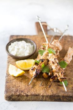Best Chicken Tikka Skewers - super easy, flavorful, low carb, authentic recipe for Chicken tikka, very similar to Tandoori Chicken. If you love Indian Restaurant food then you'll love this recipe! Can be cooked under the broiler or on a grill. #chickentikka #noshtastic #chickenskewers #indian #indianfood #takeout #chickentikkamasala #healthy #gluten free #keto #lowcarb