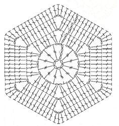 Free crochet pattern: Spicy diamond blanket (EN + NL