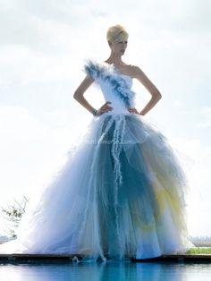 Vestiti da sposa colorati 2013