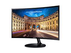 """Monitor LED Samsung Curvo 24"""" Full HD C24F390 - HDMI - VGA"""