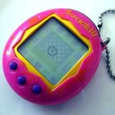 Oh man. I freaking loved my tamagotchi. I still think this would be the best gift ever to give someone. Get ready to clean some virtual poo @Betty Jo Brown and @Amy Loniewsky
