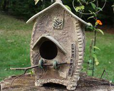 slab birdhouse