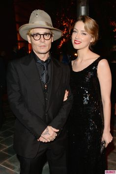 It's True! Amber Heard and Johnny Depp Are Engaged