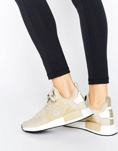 Adidas adidas Originals Beige NMD Xr1 Sneakers