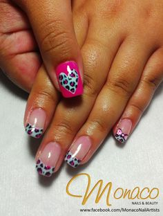 Love the French Tips part of this design!
