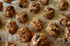 Landing On Love: Food for Energy - Protein Balls - No Bake!