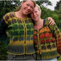 Ruth Sorensen Pattern Autumn Cardigan - The Websters in Ashland, Oregon Knit Sweaters, Yarn Projects, Hand Dyed Yarn, Oregon, Christmas Sweaters, Two By Two, Fair Isles, Colours, Autumn
