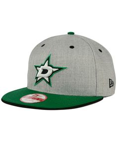 New Era Dallas Stars Heather 9FIFTY Snapback Cap