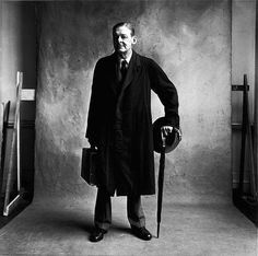 Irving Penn, T. S. Eliot