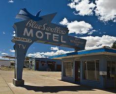 Route 66 Tucumcari, New Mexico