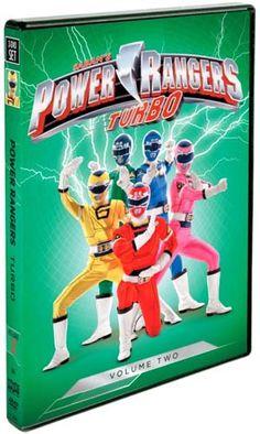 Giveaway: Power Rangers Turbo, Volume 2 DVD