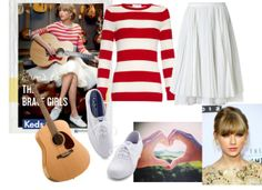 """Taylor Swift inspired"" by luv2read7301 on Polyvore"