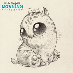 Image result for cute little creatures drawings