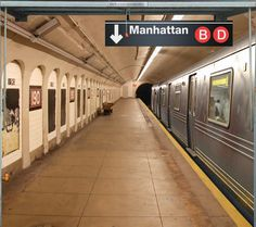Fotoplane für Garagentor NY Subway / Garage Mural NY Subway