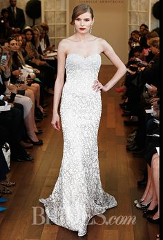 Brides.com: Isabelle Armstrong - Fall 2015%0AWedding dress by Isabelle ArmstrongPhoto: Thomas Iannaccone