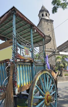Traditional Horse & Cart, Manila, Philippines.