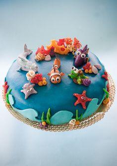 """Torta Nemo (o dei """"pescioli"""" che nuotano) - COOK AND THE CITY"""