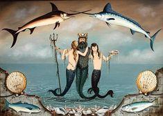 Ralph Cahoon 'King Neptune'