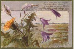 """""""Мне в душу повеяло жизнью и волей, Вон - даль голубая видна... И хочется в поле, широкое поле, Где шествует, сыплет цветами весна!"""" Майков"""
