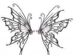 18 amazing Wings tattoo designs for men and women. Fairy Wing Tattoos, Butterfly Wing Tattoo, Fairy Tattoo Designs, Butterfly Tattoo Designs, Henna Designs Drawing, Acab Tattoo, Tattoo Music, Deviantart Tattoo, Vintage Design