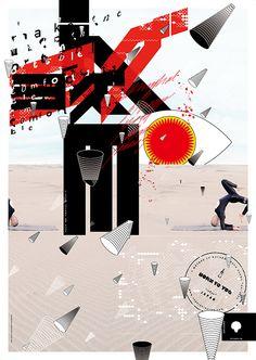 Kazuhiro Aihara/SHUNTO-SHA #yoga #tokyo #graphic #poster