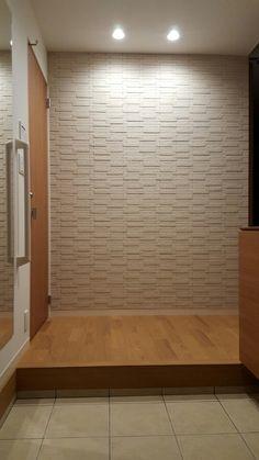 Web内覧会 玄関 | おんちゃんのミサワホームスマートスタイルEのブログ Japanese Interior Design, Natural Interior, Home Hacks, Future House, Tile Floor, Hardwood Floors, Entrance, Master Bedroom, Tiles