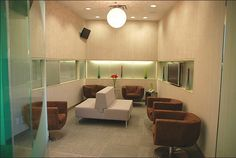 Chagger Dental, the most beautifully designed dental office (or medical office of any kind, for that matter) I've ever seen. Click thru to see more images.