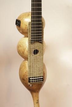Guitarra calabaza.