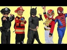 Kids Costume Runway Show Power Rangers Superheroes Disney Marvel Dress U...