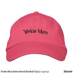 Yorkie Mom Embroider