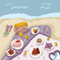 Laptop Wallpaper, Kawaii Wallpaper, Profile Wallpaper, Cake Illustration, Cute Sketches, Dibujos Cute, Aesthetic Room Decor, Happy Birthday Cards, Softies