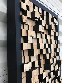 16 New Ideas Music Studio Ideas Sound Proofing Acoustic Panels Wooden Wall Decor, Wooden Wall Art, Wooden Walls, Art Atelier, 3d Art, Into The Woods, Sound Proofing, Natural Wood, Wood Projects
