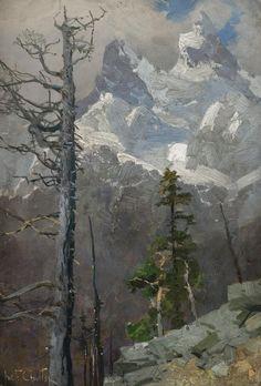 Mountain Landscape, Ivan Fedorovich Choultsé