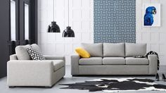 Home :: Furniture :: Lounges :: Fabric Lounges :: Byron Fabric Sofa