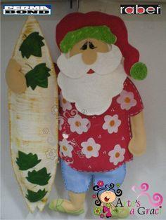 Papai Noel em Feltro | Cultura Mix