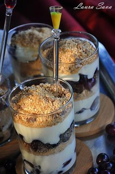 Yummy Food, Tasty, Baby Food Recipes, Minis, Cheesecake, Deserts, Food And Drink, Pudding, Sweets