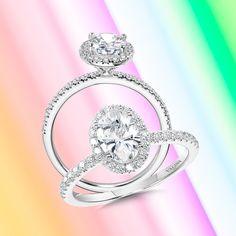 At the end of the day, true love always shines brightly.#Valina #diamonds #proposalideas #bridal #bridetobe #heputaringonit #engagementringideas #diamondrings #engagementrings #2021wedding #2021bride #2021weddings #2021bridetobe #loveofmylife #weddingdreams #showmeyourrings #howheasked #futuremrs #dreamring #marryme #haloengagementring #halo #diamondhalo #haloring #ovalengagementring #ovaldiamond #ovalcut #ovalcutdiamond #engagementringinspiration Oval Halo Engagement Ring, Popular Engagement Rings, Classic Engagement Rings, Designer Engagement Rings, Oval Diamond, Diamond Rings, Dream Ring, Halo Rings, Ring Designs