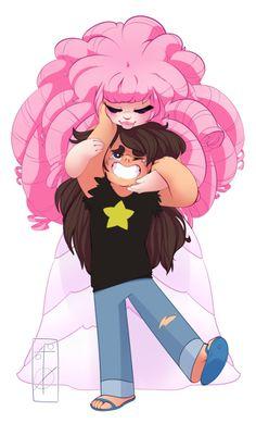 Steven Universe - Rose and Greg