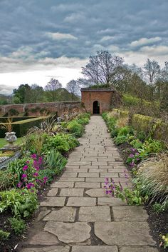 English Country Garden Path