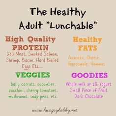 to pack a healthy lunch! This post has 5 simple ways (Including the Adult Lunchable) that create endless healthy lunch combinations!This post has 5 simple ways (Including the Adult Lunchable) that create endless healthy lunch combinations! Healthy Packed Lunches, Healthy Afternoon Snacks, Healthy Snacks, Healthy Eating, Healthy Fruits, Healthy Smoothies, Healthy Recipes, Snacks For Work, Lunch Snacks