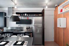 Apartamento de solteiro pequeno e descolado - 38 m².