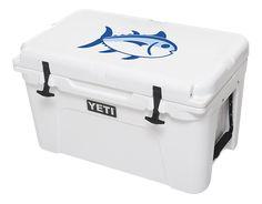 Skipjack YETI Cooler - 45 Qt. - White