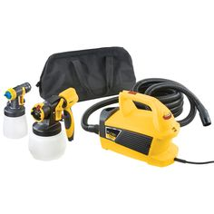 Wagner Flexio 690 Cup Fed  LIKE **********3-PSI Stationary High-Volume Low-Pressure Paint Sprayer
