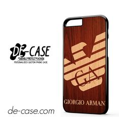Giorgio Armani Wood DEAL-4660 Apple Phonecase Cover For Iphone 6 / 6S