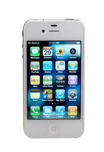 New Apple iPhone 4 16GB Smartphone Verizon Page Plus White Clean ESN 885909420445   eBay
