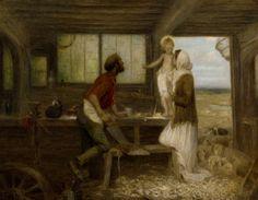 The Carpenter's Shop - Edward Stott