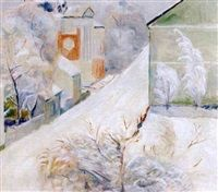 Juledagsmorgen Lillehammer by Einar Sandberg