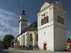 Slovakia, Spišská Sobota - Church of St. George