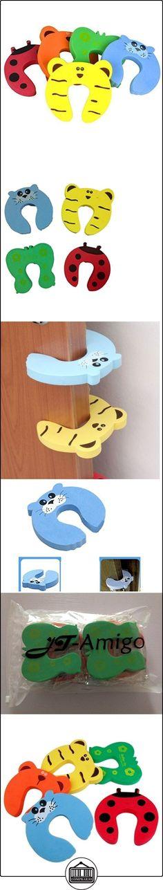 JT-Amigo Pack de 10 Piezas Tope Clip Protector Puerta Dedos Seguridad para los Niños  ✿ Seguridad para tu bebé - (Protege a tus hijos) ✿ ▬► Ver oferta: http://comprar.io/goto/B01EHYPF04