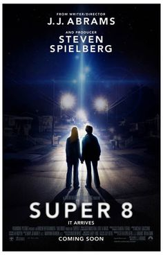 A great movie poster from Super 8! A contemporary classic from two masters of modern Sci-Fi - JJ Abrams and Steven Spielberg. Ships fast. 11x17 inches. Need Poster Mounts..?